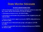 state monitor advocate8