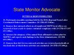 state monitor advocate9