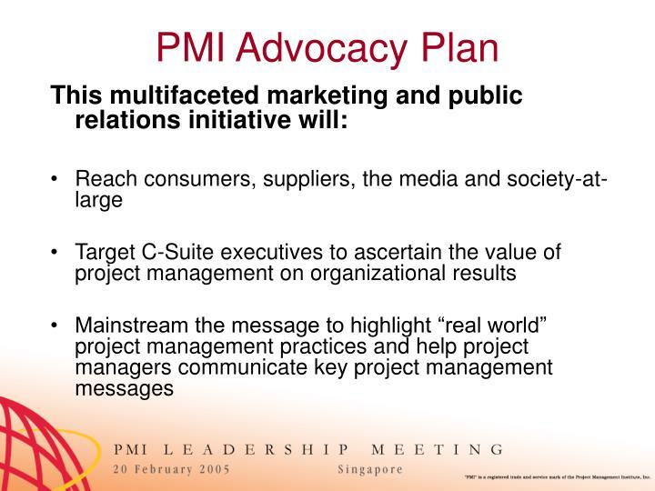 PMI Advocacy Plan