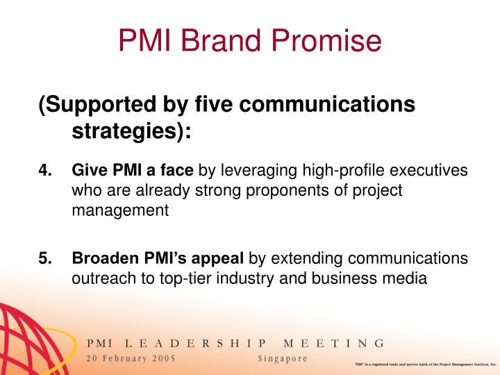 PMI Brand Promise
