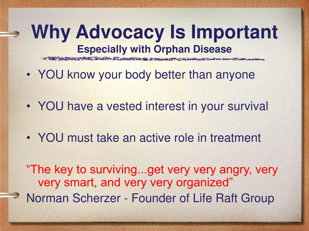 Why Advocacy Is Important