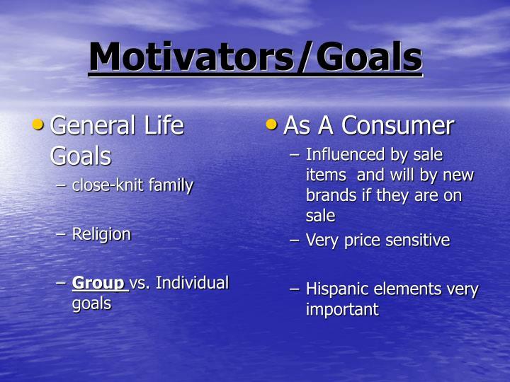 General Life Goals