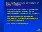 document americans perceptions of public restrooms