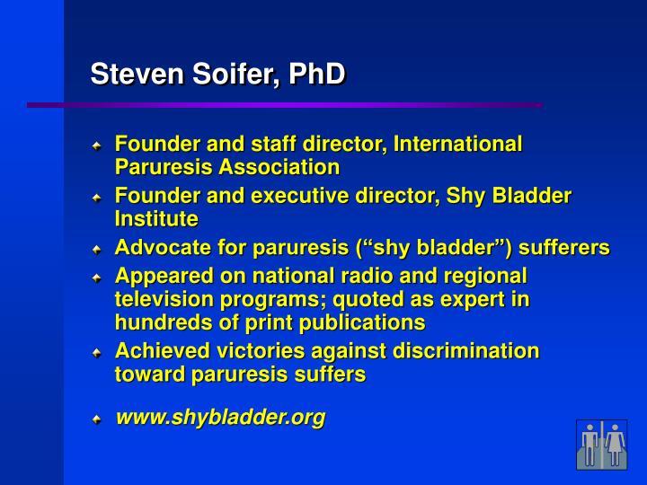 Steven Soifer, PhD