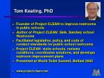 tom keating phd