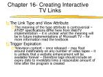 chapter 16 creating interactive tv links4