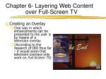 chapter 6 layering web content over full screen tv1