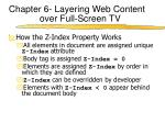 chapter 6 layering web content over full screen tv7