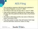 aes filing29