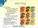 aes filing31