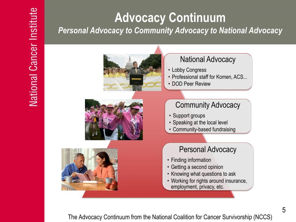 Advocacy Continuum