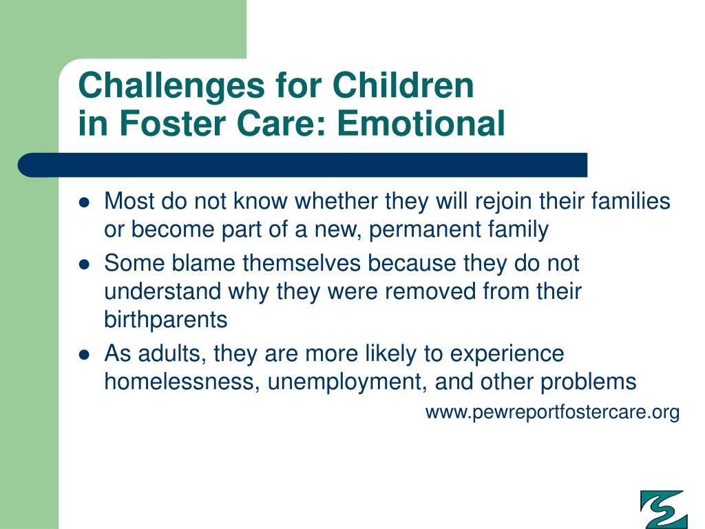 Challenges for Children