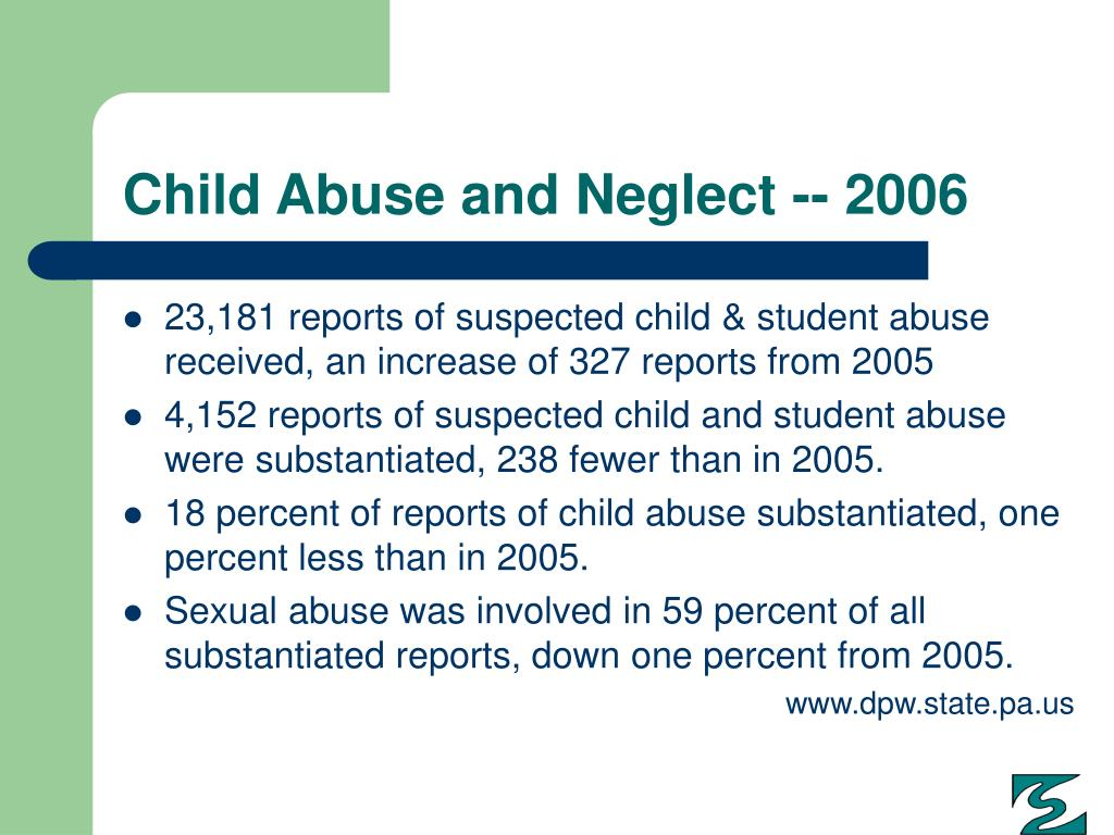 Child Abuse and Neglect -- 2006