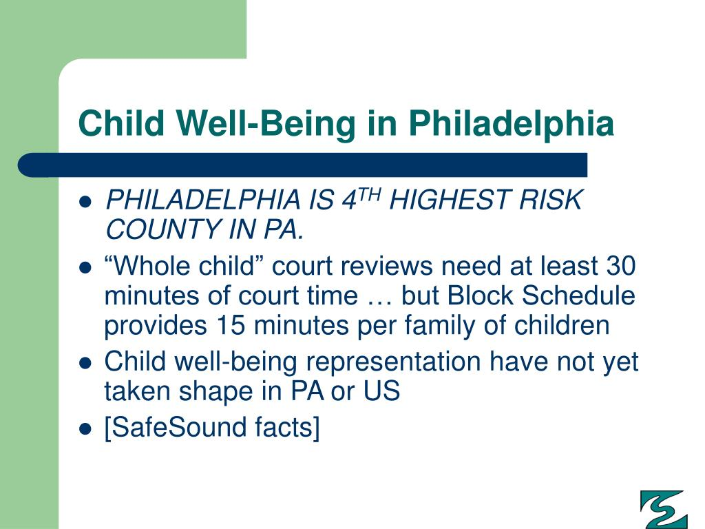Child Well-Being in Philadelphia