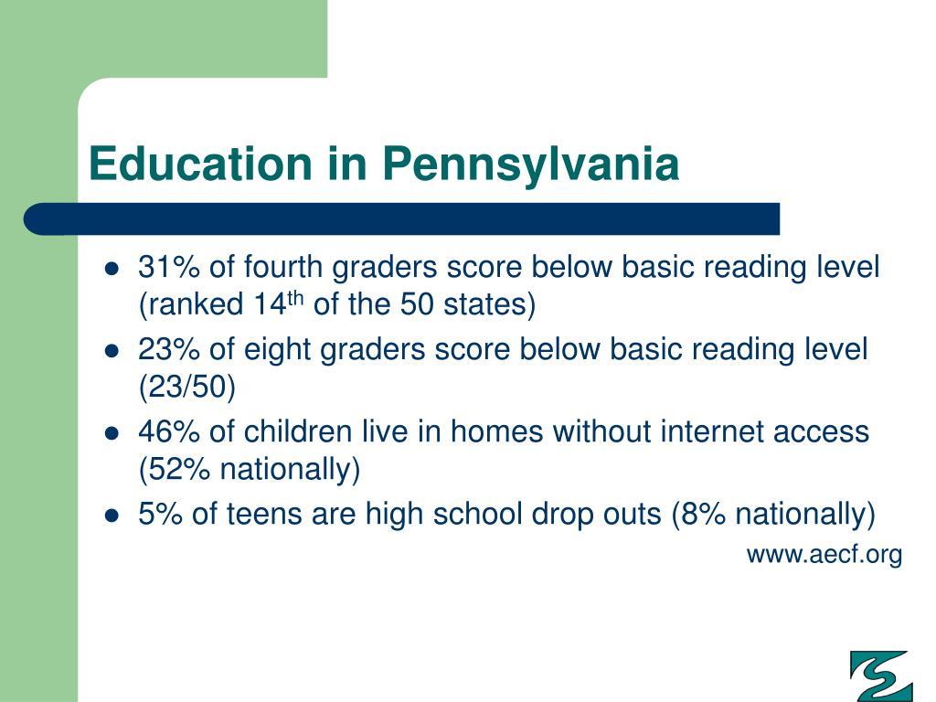 Education in Pennsylvania