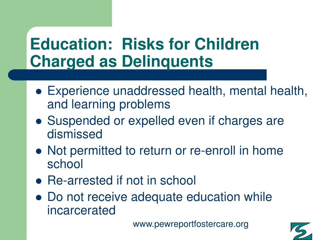 Education:  Risks for Children