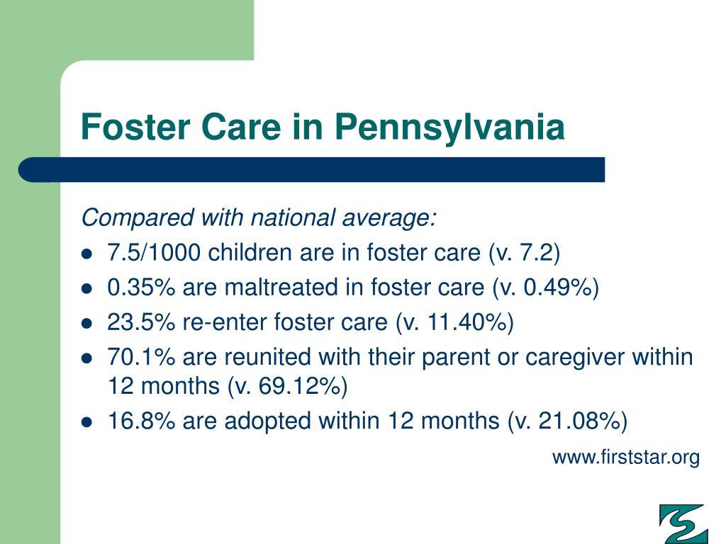 Foster Care in Pennsylvania