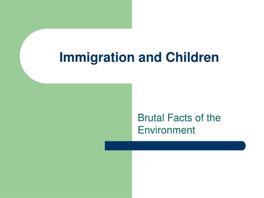 Immigration and Children