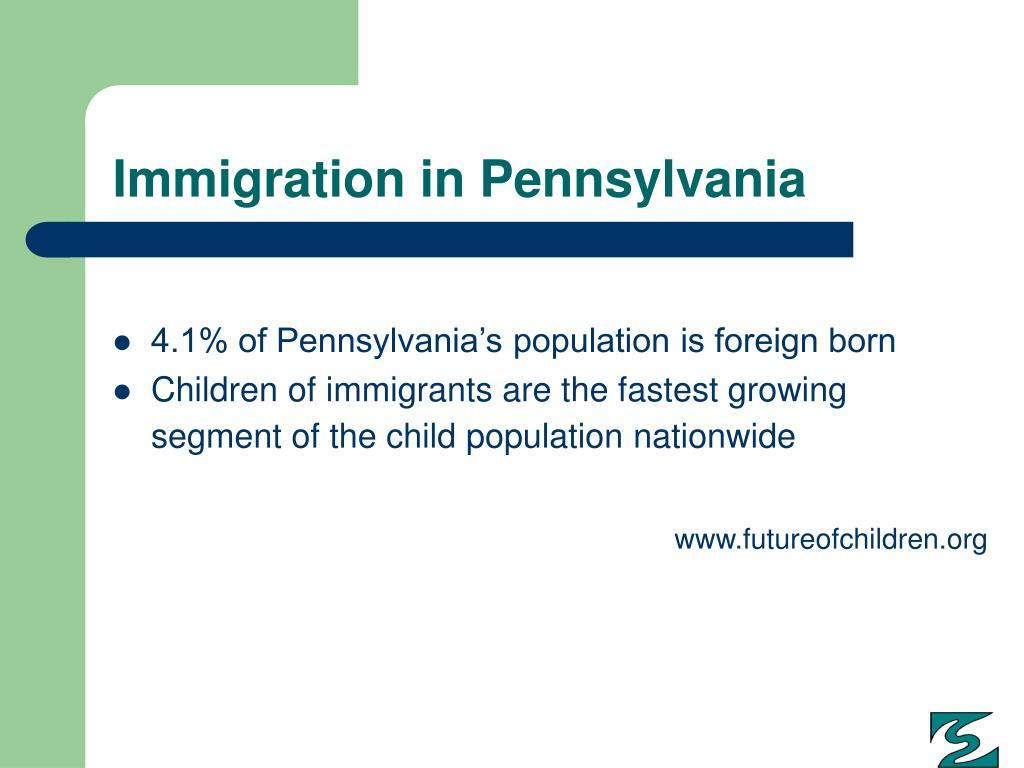Immigration in Pennsylvania