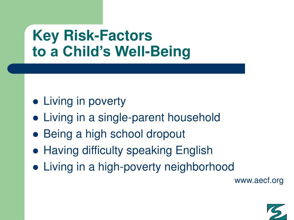 Key Risk-Factors