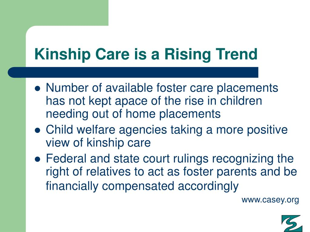 Kinship Care is a Rising Trend