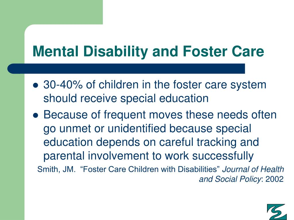Mental Disability and Foster Care