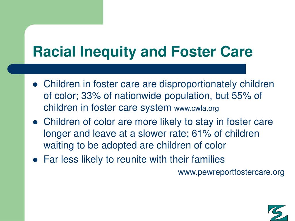 Racial Inequity and Foster Care