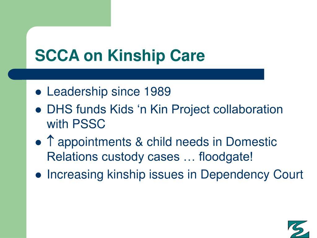 SCCA on Kinship Care