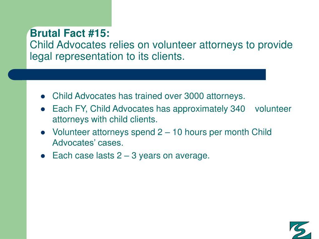 Brutal Fact #15: