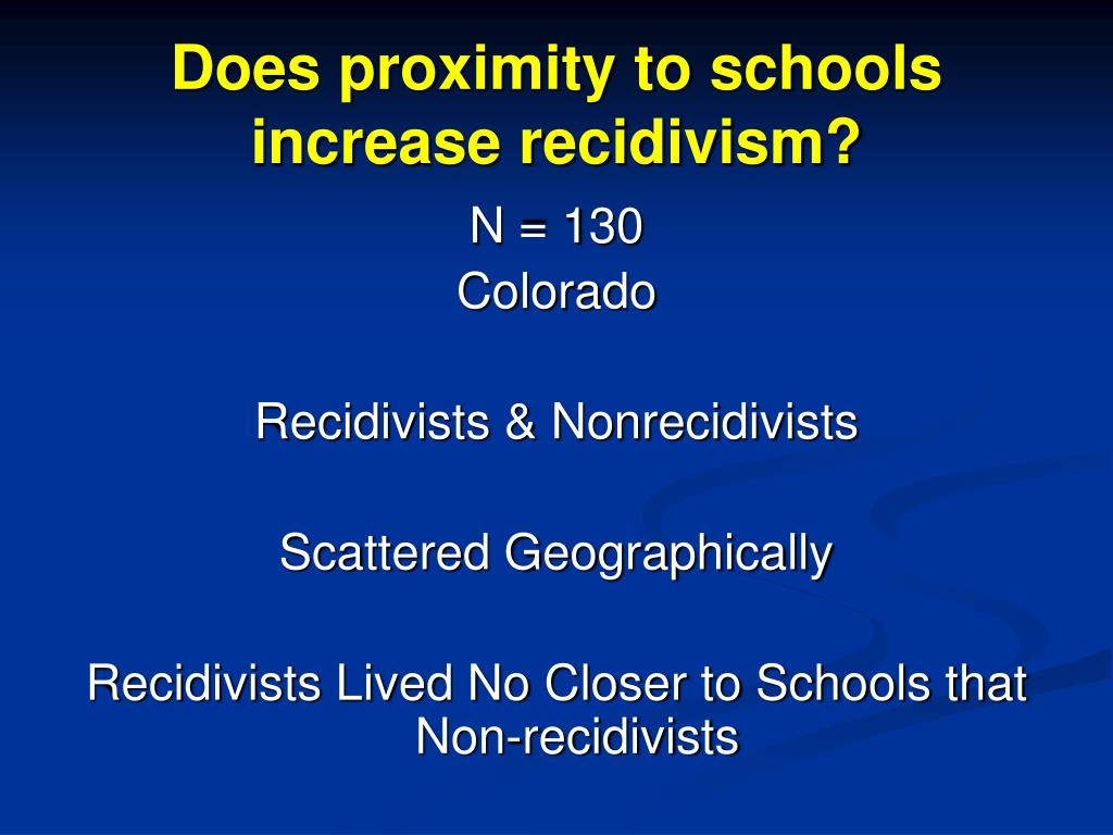 Does proximity to schools