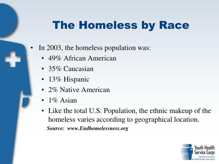 The Homeless by Race