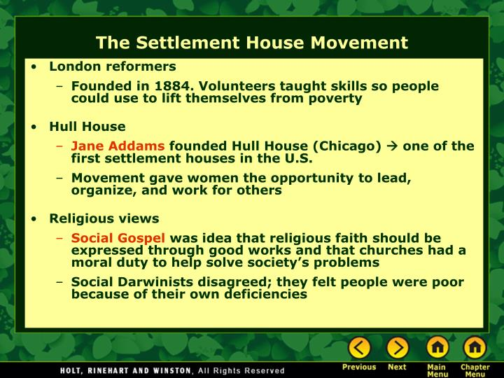 London reformers