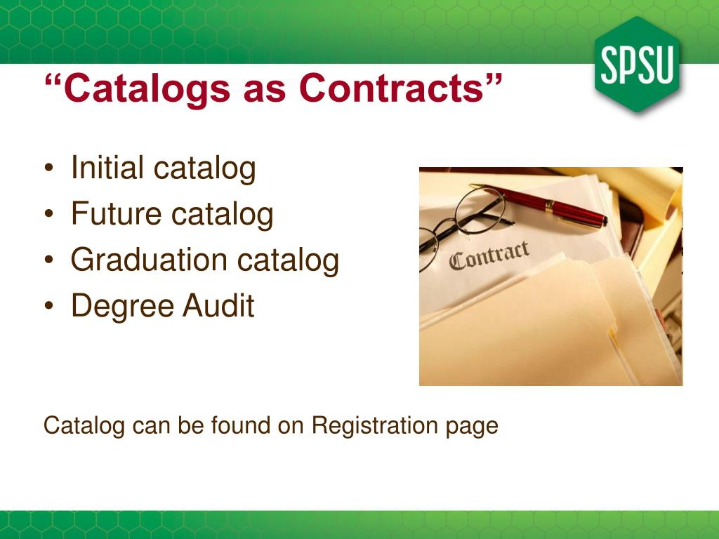 """""""Catalogs as Contracts"""""""