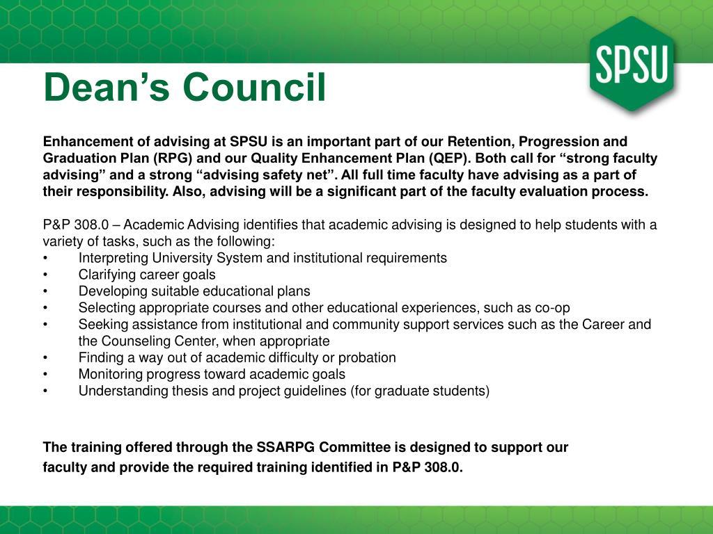 Dean's Council