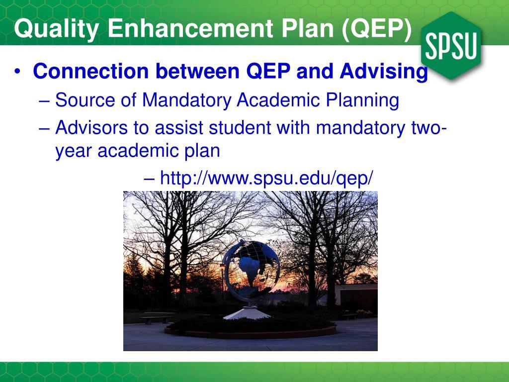 Quality Enhancement Plan (QEP)