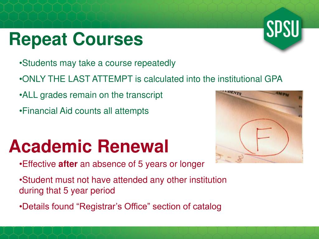 Repeat Courses