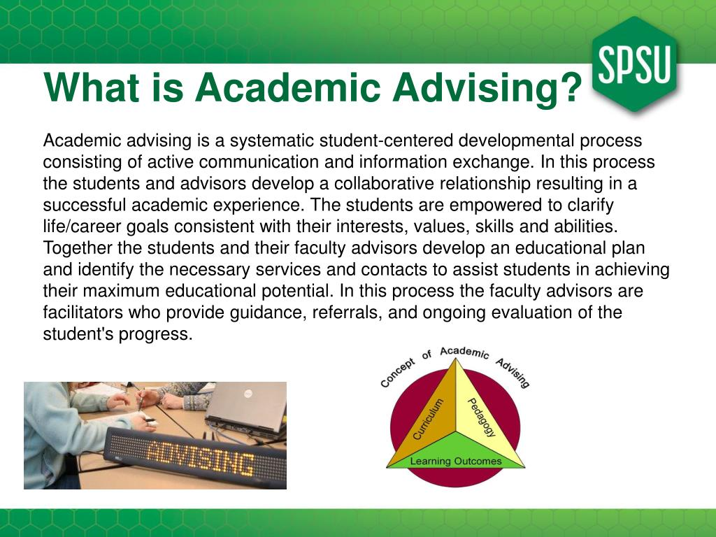 What is Academic Advising?