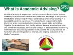 what is academic advising