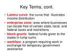 key terms cont4