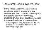structural unemployment cont1