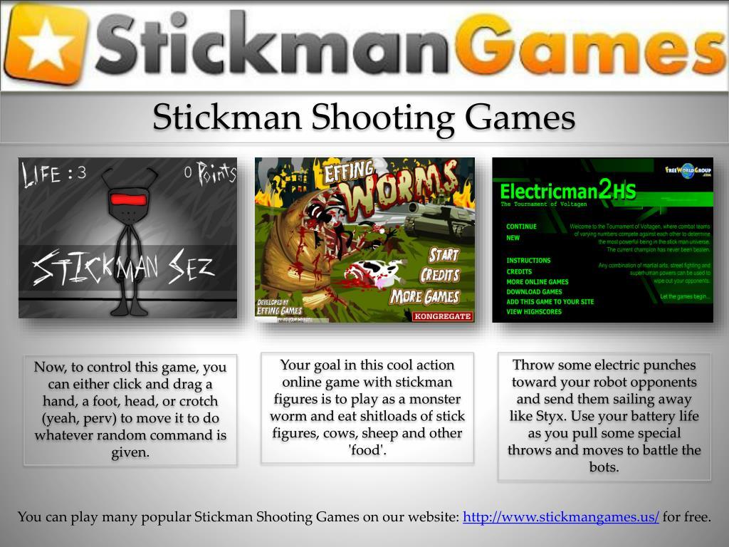 Stickman Shooting Games