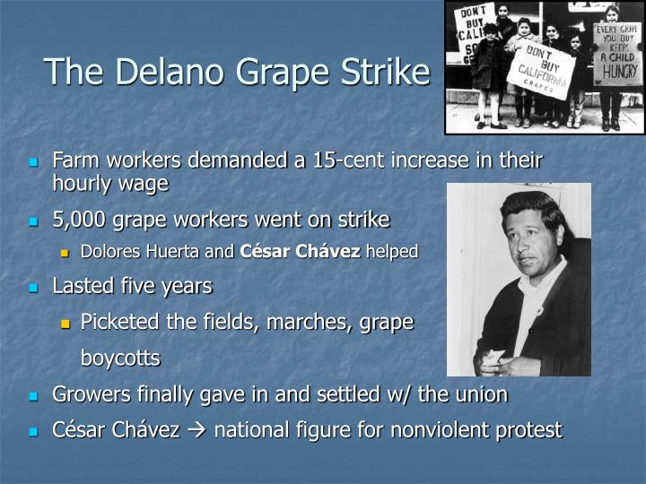 The Delano Grape Strike
