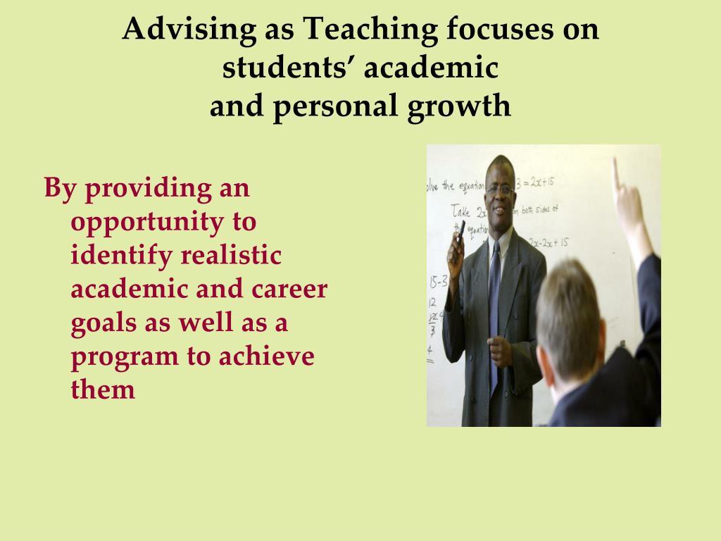 Advising as Teaching focuses on