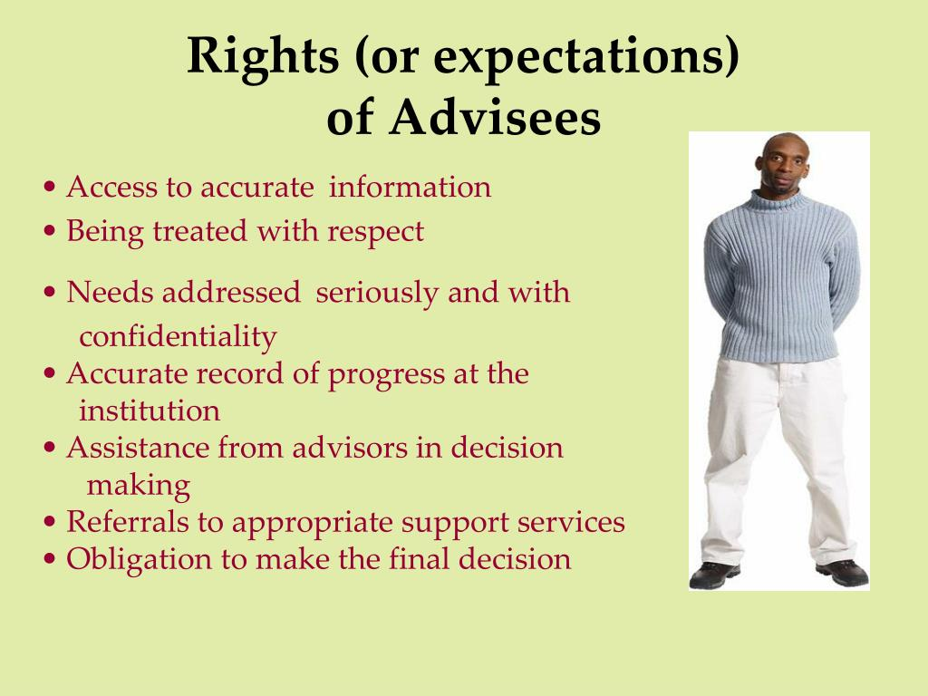 Rights (or expectations)
