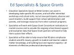 ed specialists space grants