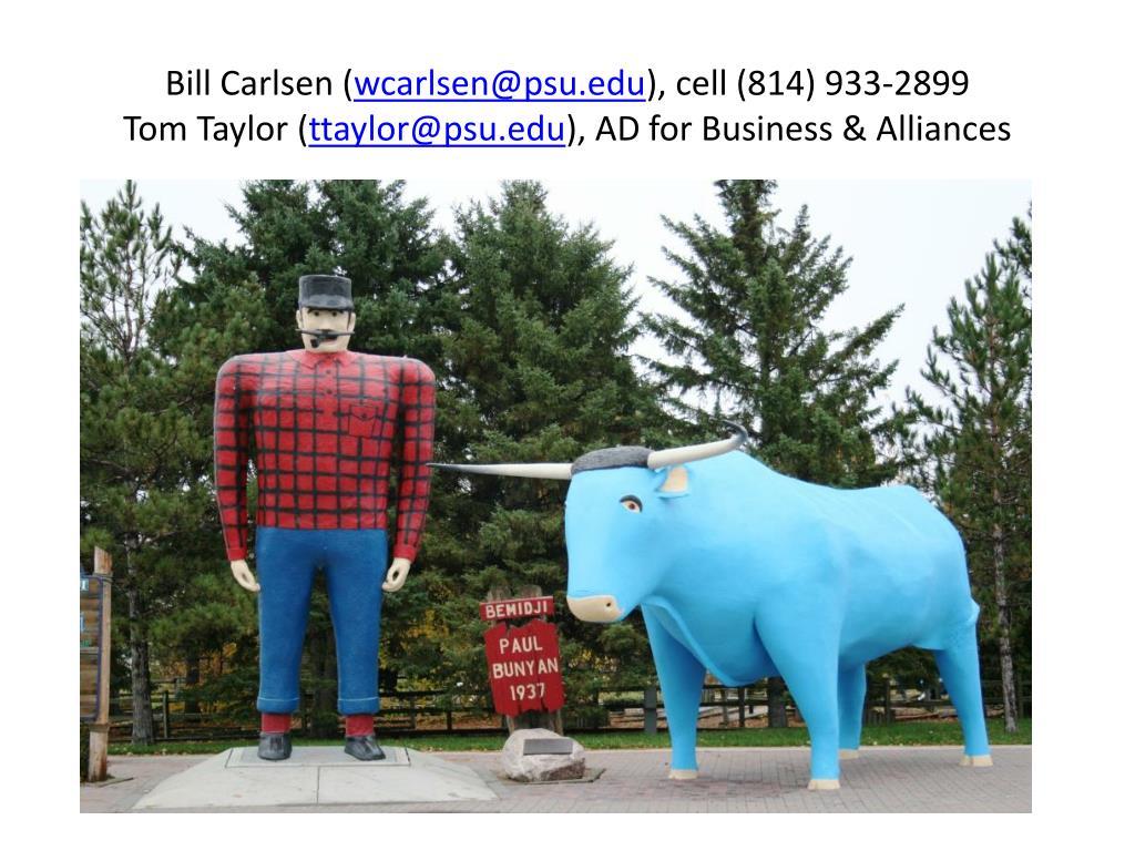 Bill Carlsen (