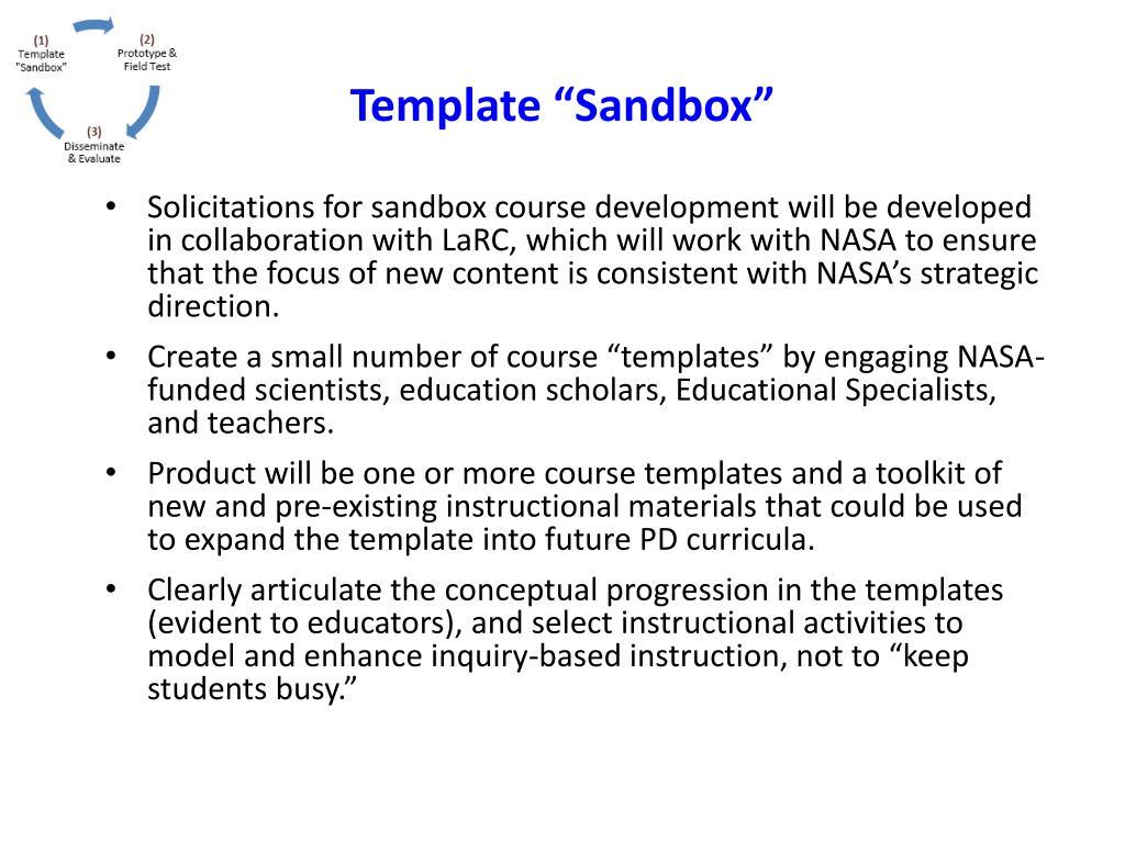 "Template ""Sandbox"""