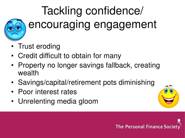 Tackling confidence/ encouraging engagement