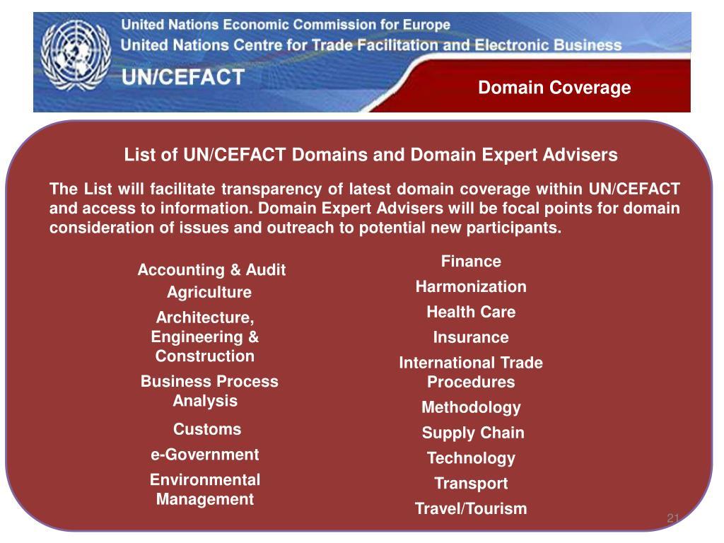 Domain Coverage