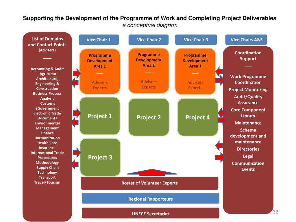 Supporting the Development of the Programme of Work and Completing Project Deliverables